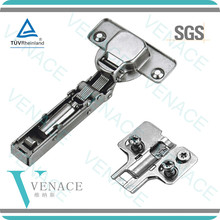 Three dimensional adjustable and two-force damping hinge(with the europew screws)