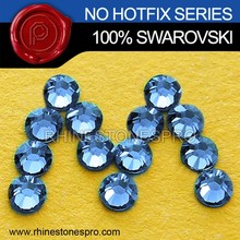 High Quality Swarovski Elements Light Sapphire (211) 34ss Flat Back Crystal Non HotFix