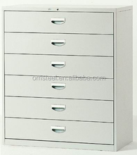 6 drawers filing cabinet/steel office furniture