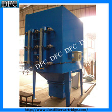 Modular design filter cartridge dust extraction system for laser cutting
