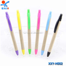 simple design environmental protection pen,cheap plastic ball pen