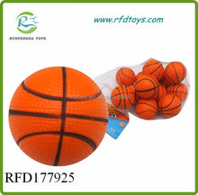 Hot sale promotional gift colorful stress pu basketball