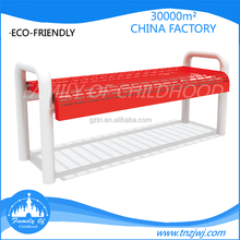 CE certification outdoor sitting bench long and leisure park chair for sale