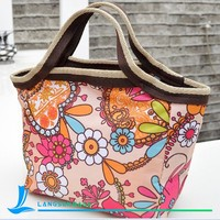 Printing beautiful anthemy handbag toto bag for girls