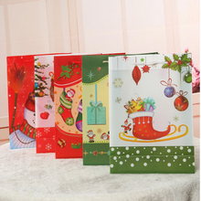 2015 Wholesale Christmas Gift Paper Packaging Bag For Curtains And Clothes
