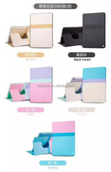 Sleeping case for ipad air2 case Fashion hit color cover for ipad air Rotating 360 degree case Ultrathin cover