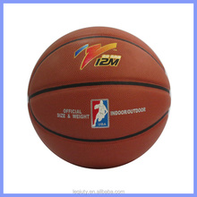 wrap yarn rubber bladder basketball balls size 7