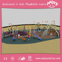 EN1176 Playground Standard New Landed PE Board Roof Children Plastic Kids Playsets Outdoor