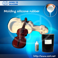 rtv liquid silicone rubber for PU/poly resin crafts mold making