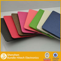 TOP quality colorful stand leather case for iPad mini