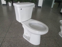 Top Flush Decorative Closet Ceramic two piece sanitaryware toilet bowl