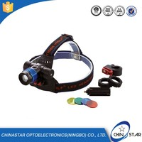 CE Certfication durable best rechargeable led t6 led headlamp