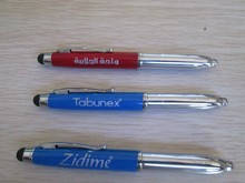 SHIBELL quality 3 in 1 multifuctional led light pen with stylus