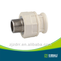2015 high quality iso standard 20mm-110mm ppr male union for construction building