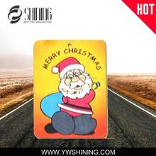 ADVERTISING PROMOTIONAL LOGO PRINTED CAR VENT CLIPS AIR FRESHENER