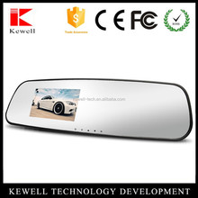 """2.7"""" LCD Android GPS Car Rearview Mirror Monitor 1080P HD DVR with Wifi"""