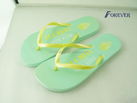 solid color girls wearing flip-flops with 15mm thick sole