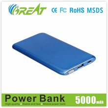 2015 Innovations design portable mobile power bank charger for Galaxy 6/Xiaomi/Huawei and Tablet PC