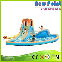 newpoint Special Fire Truck Inflatable Slide