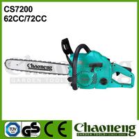 Chaoneng petrol/gasoline engine chain saw 62cc/72cc