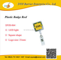 Top grade personalized id badge holder with led light