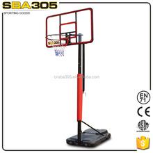 screw jack adjustable solid steel indoor basketball equipment