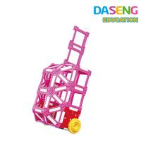 construction toys,girls educational block, plastic diy model toys