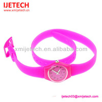 Hot Selling Silicone Long Strap Watch