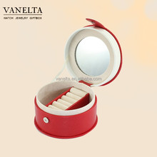 Wholesale Chinese Cheap Plastic Mirror Jewellery Box for Gift