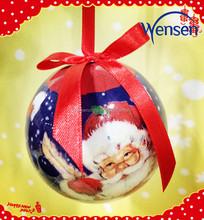 handicraft Santa design Christmas balls Christmas gifts