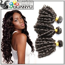 2015 New arrival hot sale unprocessed brazilian crazy curl