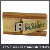 high quality filp usb drive bulk 2GB wooden usb flash drives