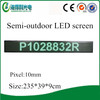 Hot sell window LED scroll sign and display looking for window led signs