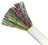 china cable factory supply high quality 20 pair cable drop telphone cable with rohs