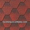 Asia red Asphalt Roofing shingles