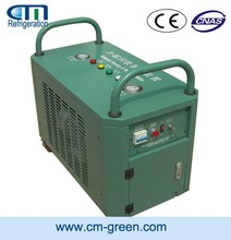 CM6000 Auto refrigerant recovery system for screw unit oil less r22 gas price