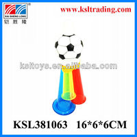 Football trumpet small plastic promotional toy