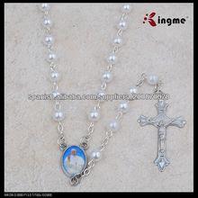 6 milímetro nuevo papa imitación perla del rosario