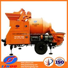 Linuo C3 electric mini concrete mixer, diesel concrete mixer with pump, concrete mixer trailer