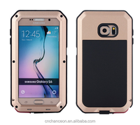 Aluminum Material Metalic bump shockproof Waterproof case for Samsung Galaxy S6 CO-MIX-9023