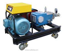 Electric motor or diesel engine driven high pressure cleaner400bar