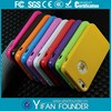 Wholesale rubber TPU case for iphone 5 5s bulk phone accessories
