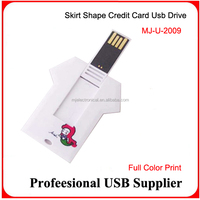 credit card usb 2.0 business usb flash card pen drive pendrive 4gb 8gb 16gb 32gb memory stick customize logo available