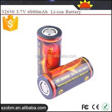 TrustFire TF 3.7V li-ion 6000mAh Rechargeable 32650 battery