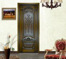 Tallada puerta de madera original de calidad superior de la puerta interior
