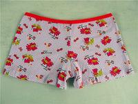 3012-2 new style red cat pretti cotton girl panties 11-13y girls preteen underwear popular to TLS cute kid in underwear