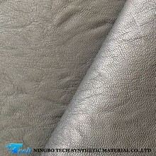 Black embossed leather raw material for shoe making pu synthetic shoe leather