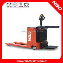 NBO 1.3T mini electric pallet truck, rough terrain pallet truck electric, pallet truck used for sale