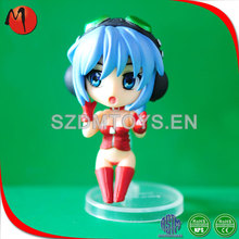 Hot sell delicate multicolor movie character custom plastic toy figure