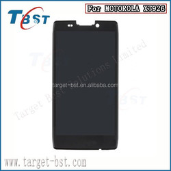 OEM LCD Screen and Touch Glass Digitizer Assembly for Motorola Droid XT926 With Verizon Logo